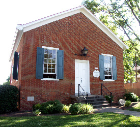 Mt. Healthy's old free meeting house